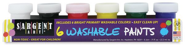 Washable Set of 6