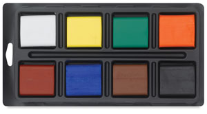 Set of 8 Colors, with tray