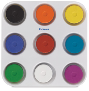 Tray with 9 Colors