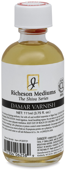 Damar Varnish, 3.75 oz