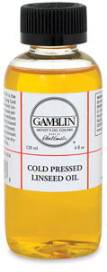 Cold Pressed Linseed Oil, 4 oz