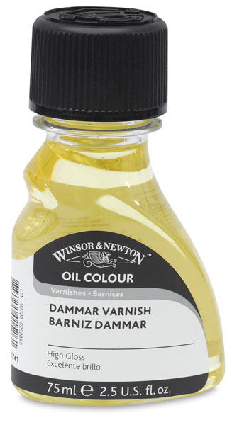 Dammar Varnish, 75 ml bottle