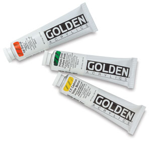 Golden Heavy Body Artist Acrylics, 2 oz