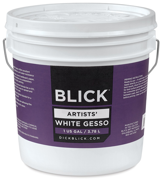 Artists' White Gesso, Gallon