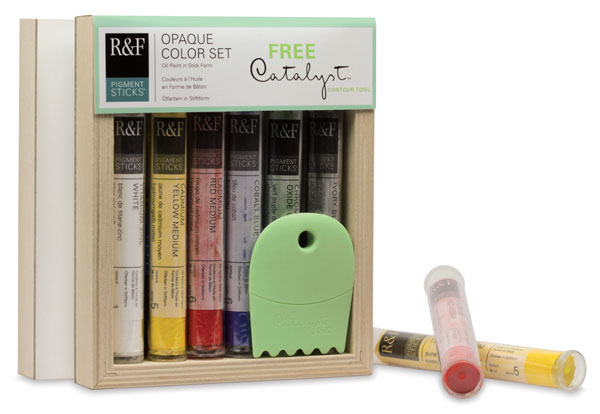 Opaque Colors, Set of 6 with FREE Catalyst C-22 Contour