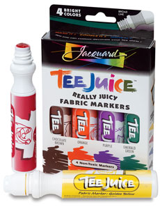 Jacquard Tee Juice Fabric Markers
