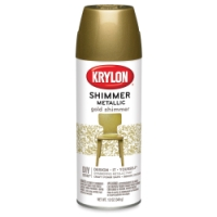Shimmer Metallic Spray Paint, Gold Shimmer