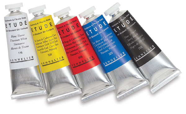 Sennelier etude art student oil colors blick art materials Oil based exterior paint brands