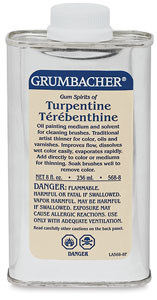 Turpentine, 8 oz Can