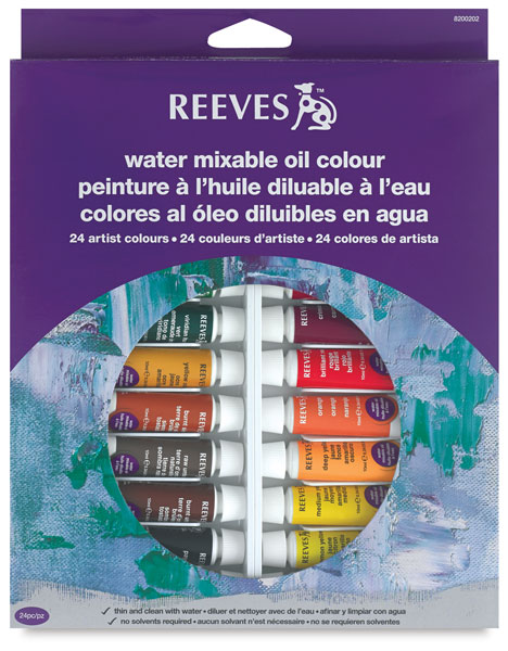 Water Mixable Oils, Set of 24