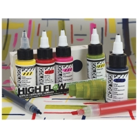 High Flow Acrylic Marker Set (Example of Use)
