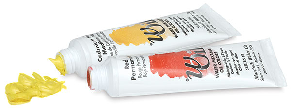 wOil Water Mixable Artist Oil Colors