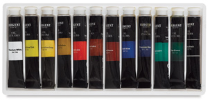 Oil Colors, Set of 12