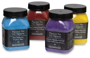 Sennelier raw dry artists pigments