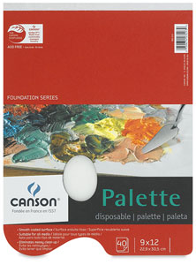 Canson Disposable Palette