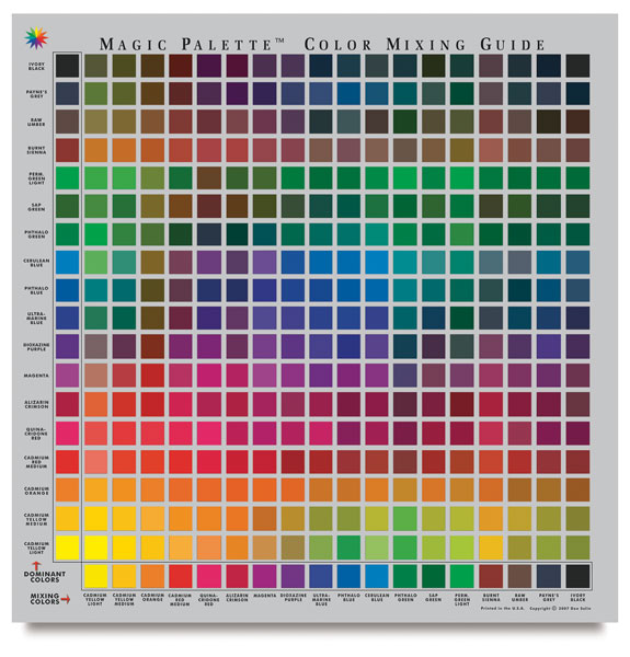 Color Selector and Mixing Guide, Personal Size