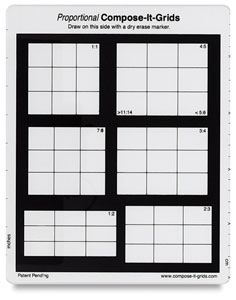 """8"""" × 10"""", 6 Grids in 1"""