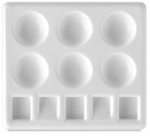 "Plastic Palette Tray, 5"""" × 4¼"""""