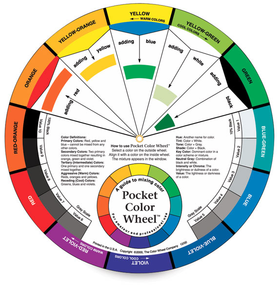 Pocket Color Wheel, front