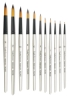 Robert Simmons Simply Simmons Short Handle Synthetic Mix Brushes