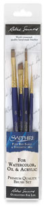 Sapphire Pack X, Set of 4 Brushes