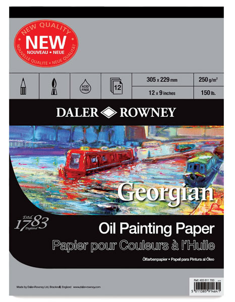 Daler-Rowney Georgian Oil Pads