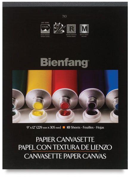 Paper Canvas, 10-Sheet Pad
