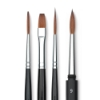 Russian Red Sable Watercolor Brushes