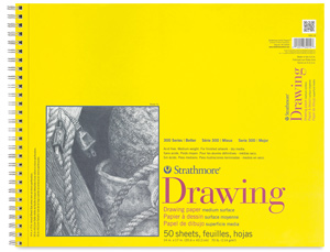 """Drawing Pad, Wire Bound, 50 Sheets, 14"""" × 17"""""""