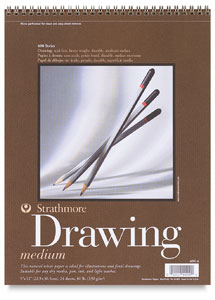 Strathmore 400 Series Drawing Paper Pads