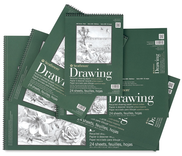 Strathmore 400 Series Recycled Paper Drawing Pads