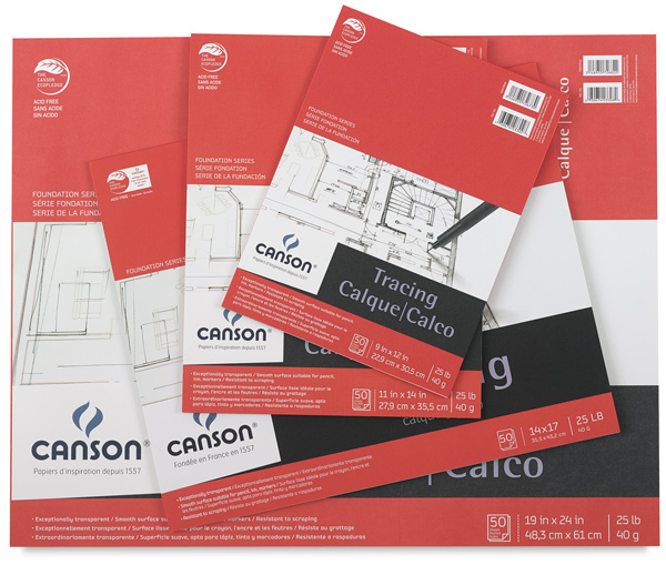 Canson Foundation Tracing Paper