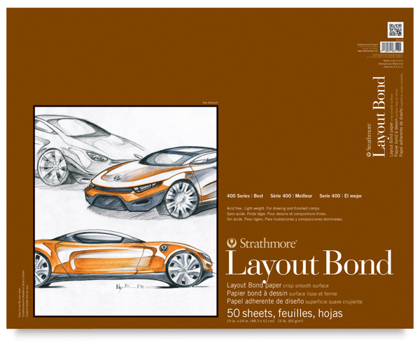 "Layout Bond Pad, 19"" × 24"""