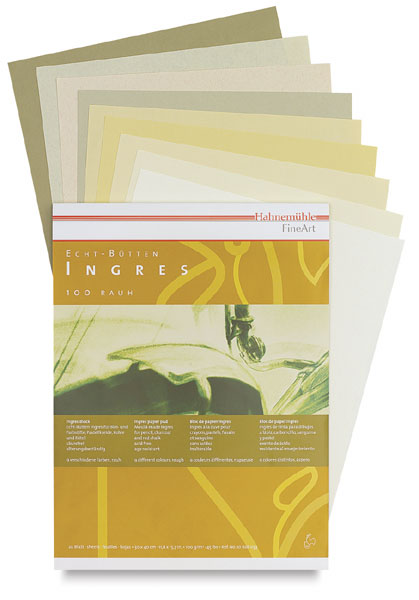 Ingres Pad, Assorted Colors