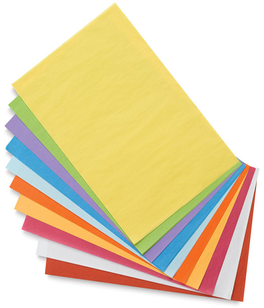Colored Tissue, 10-Color Assortment