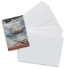 Watercolor Cards with Env, Pkg of 6, White