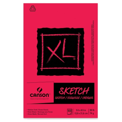 Canson XL Sketch Pads Paper for Drawing and Sketching