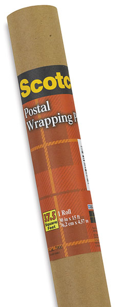 Postal Wrapping Paper, Roll