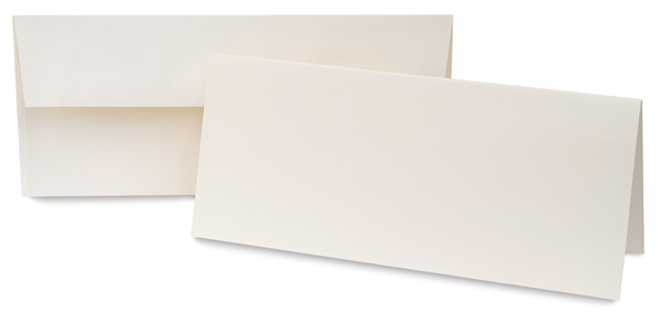 Canvas Cards, Slim, Pkg of 10