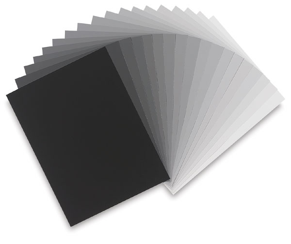 Packet of 19 Graduated Greys
