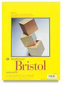 Strathmore 300 Series Bristol Board Pads