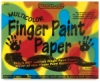 Scratch-Art Multicolor Finger Paint Paper