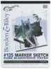 Borden & Riley #125 Marker Sketch Pads