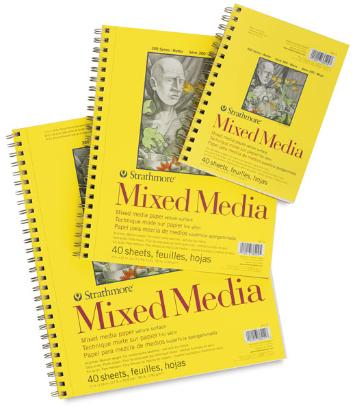 300 Series Mixed Media Pads