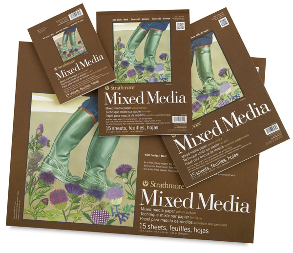 400 Series Mixed Media Pads