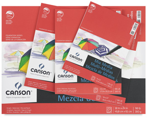 Canson Foundation Series Mixed Media Pads