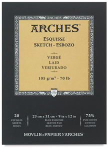 Arches Sketch Pad, 20 Sheets