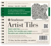 "400 Series Sketch Artist Tiles, 6"" × 6"", Pad of 70 Tiles"