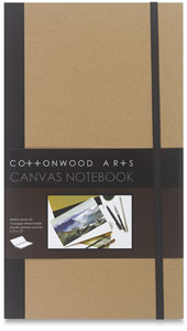 Canvas Notebook, 16 Sheets