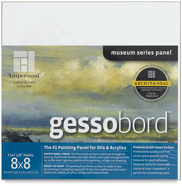 """Gessobord, 1/8"""" Thick"""